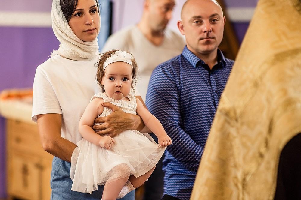 Фотосъемка крещения - июль 2020