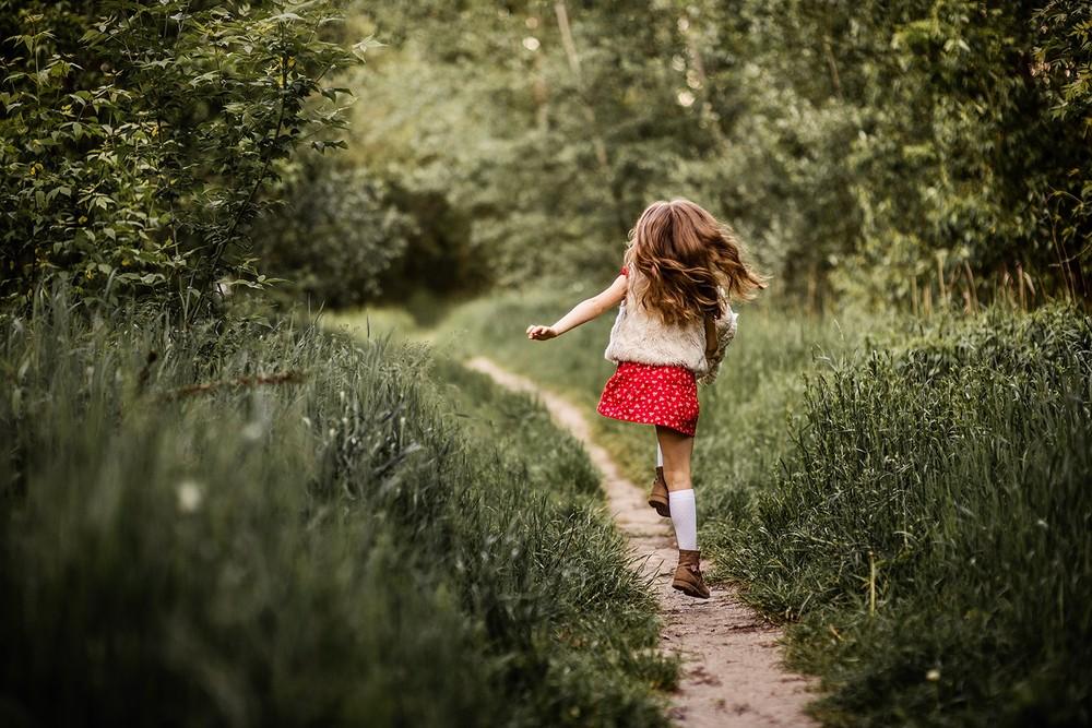 Детская фотосессия - Вера