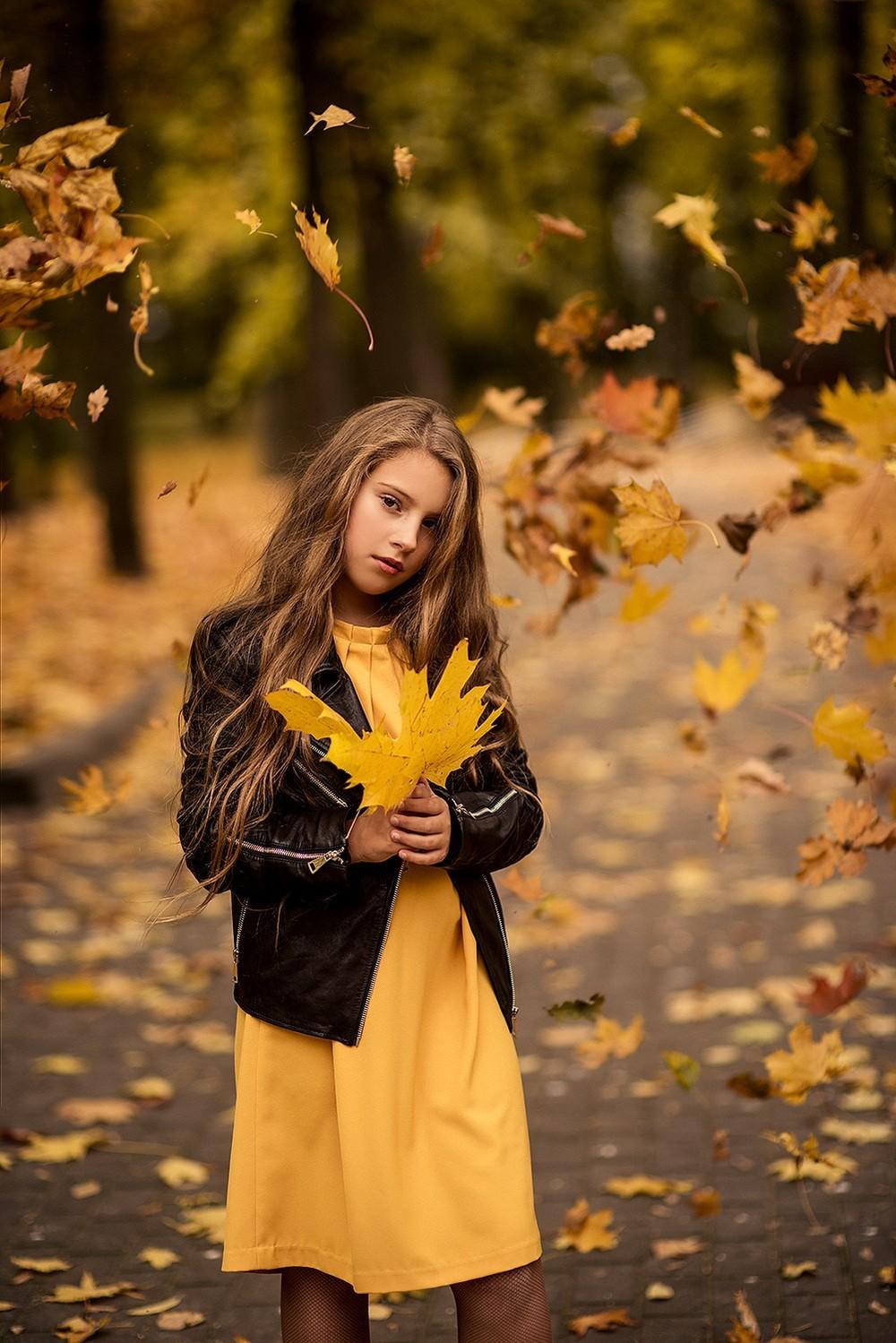 Детская фотосессия - Осень 2019
