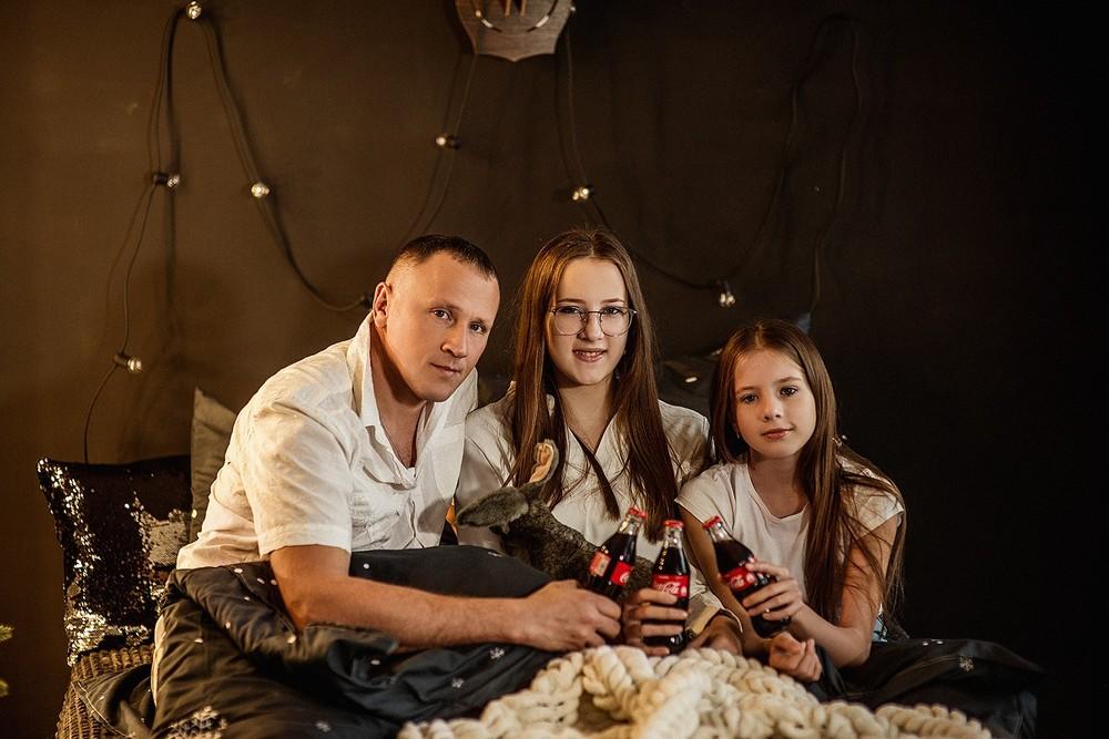 Новогодние серии - Анна с семьёй