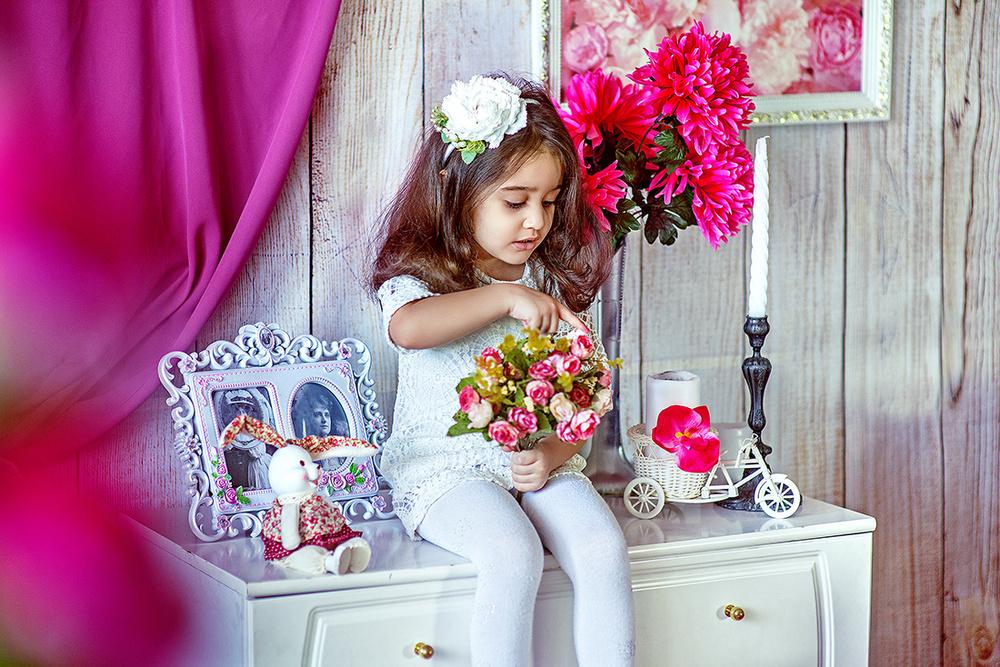 Детская фотосессия - Амина