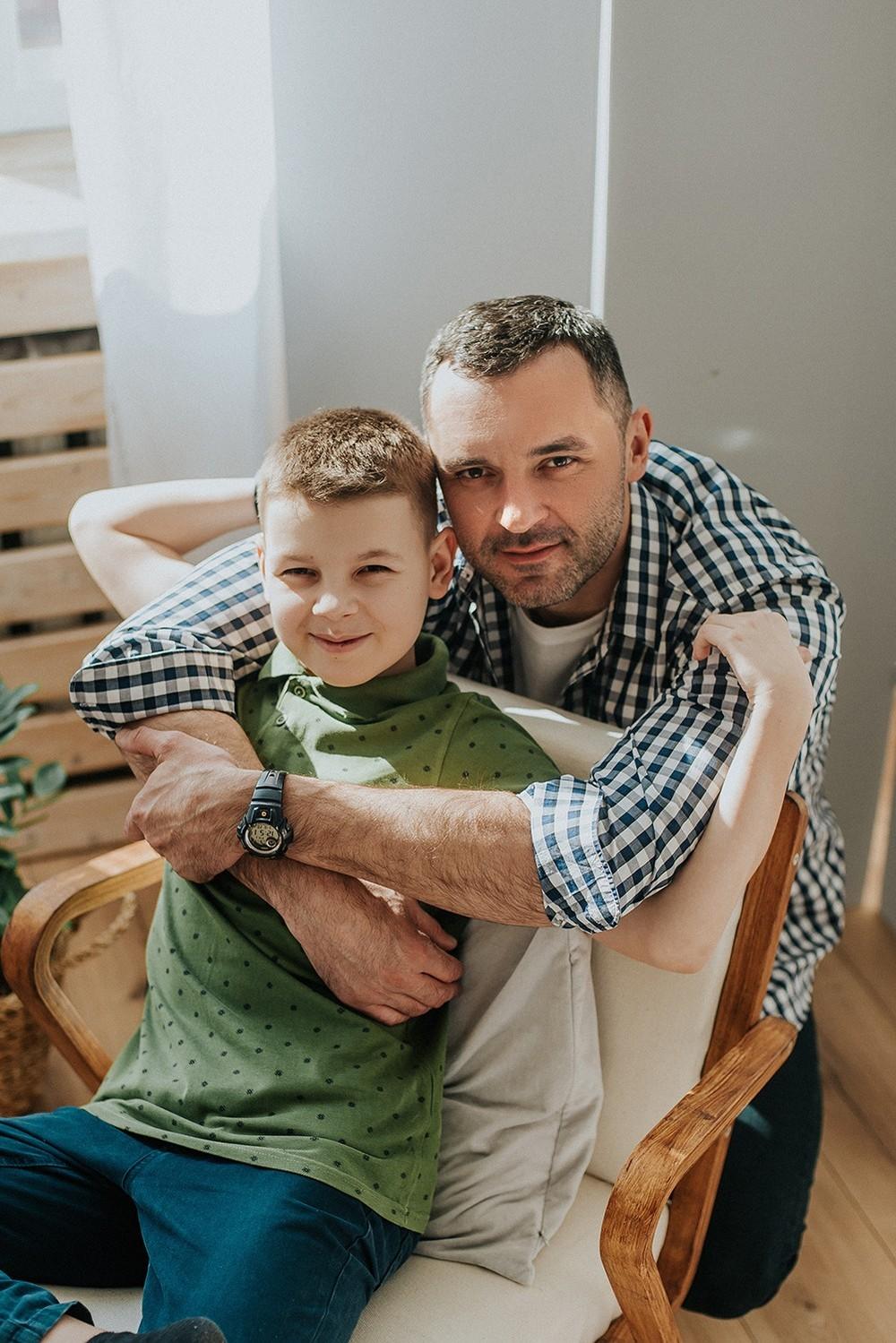 Семейные фотосессии - Таня  и мальчики