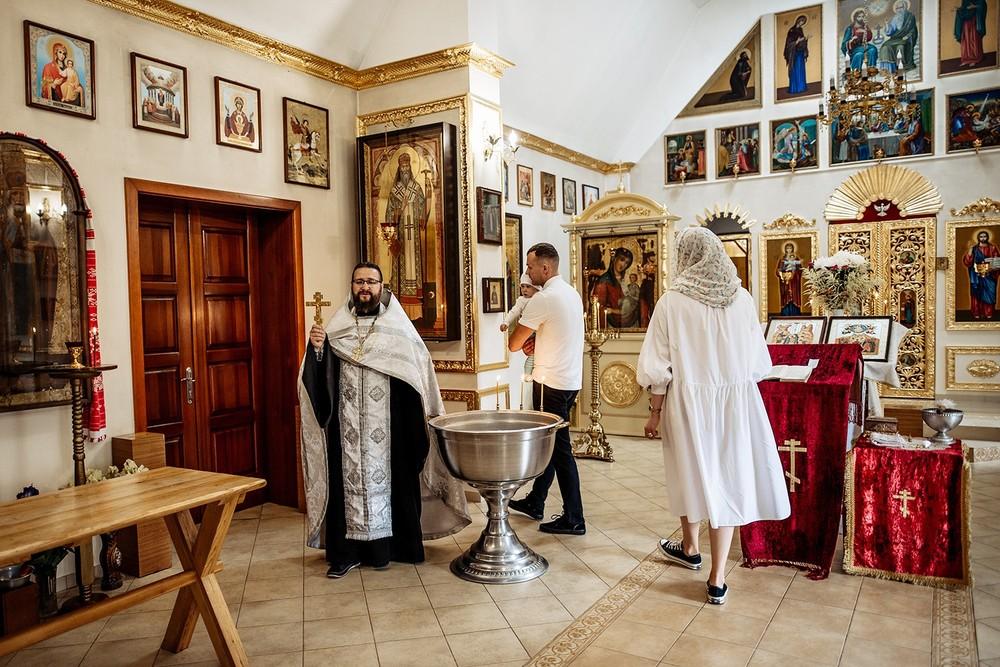 Фотосъемка крещения - Крестины в Покалюбичах