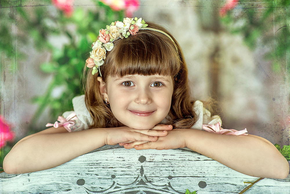 Детская фотосессия - Дыхание весны,2015