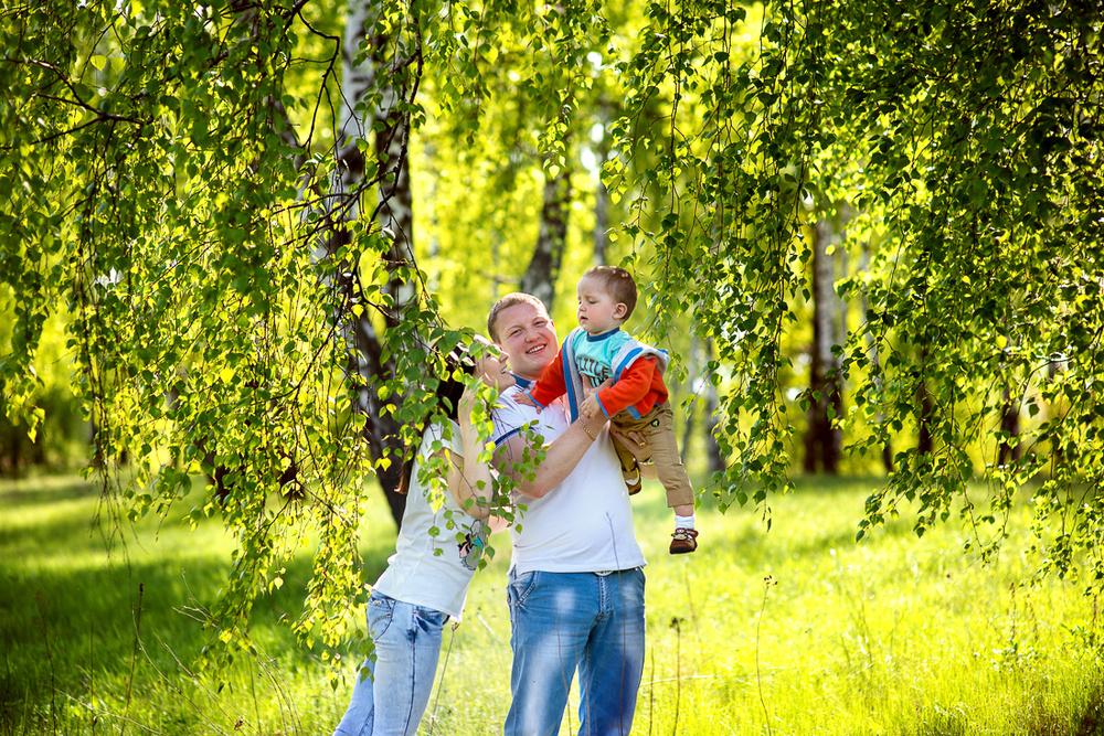 Семейные фотосессии - Настя  и ее 2 Ванечки
