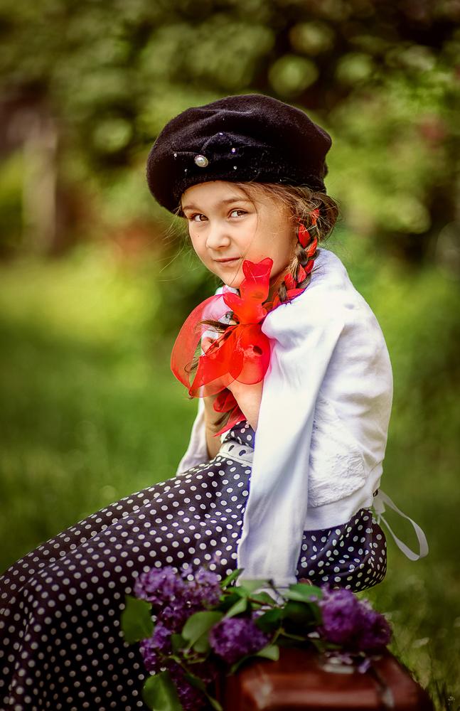 Детская фотосессия - Девочка СССР
