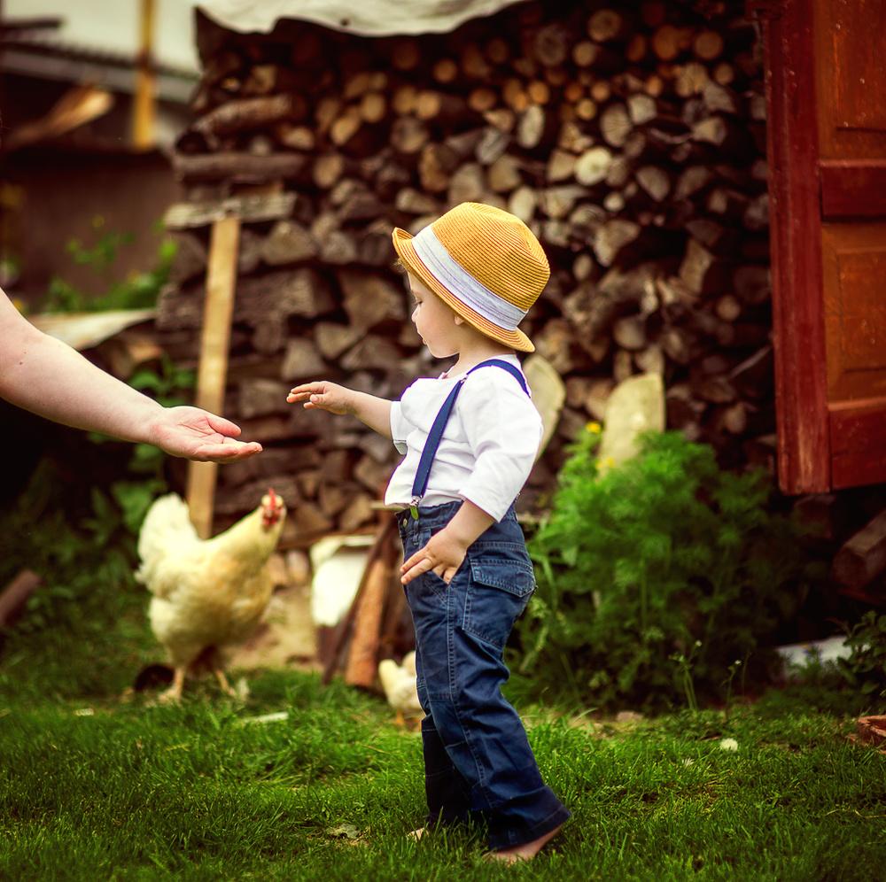 Детская фотосессия - Тимоша