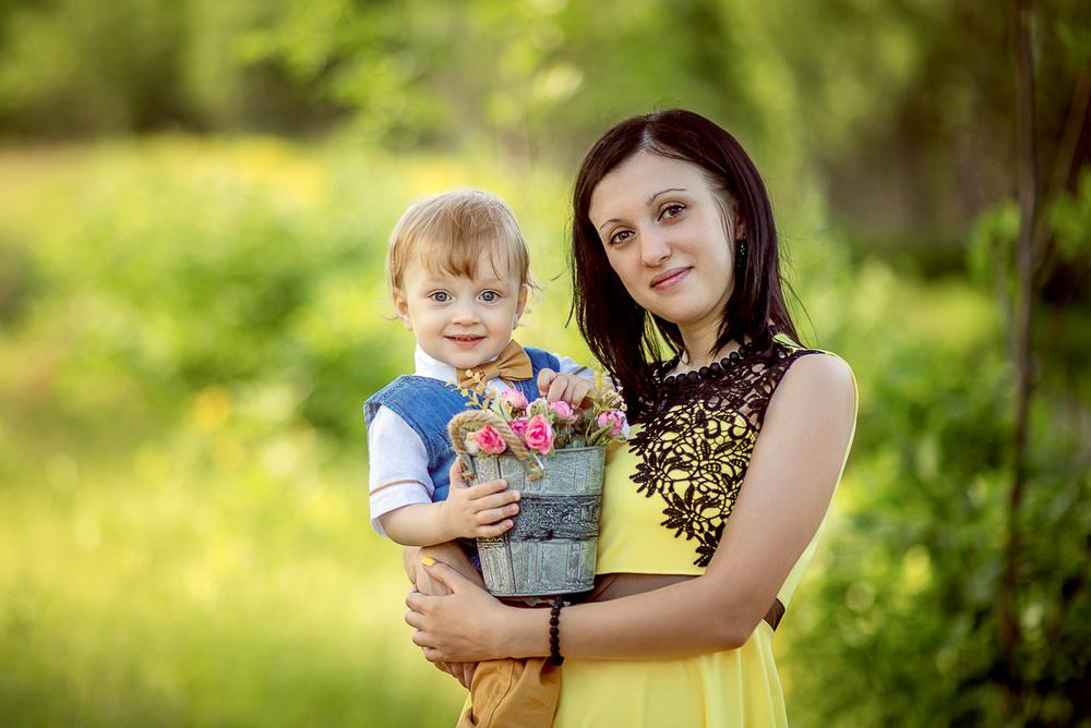 Семейные фотосессии - Галина и ее семья