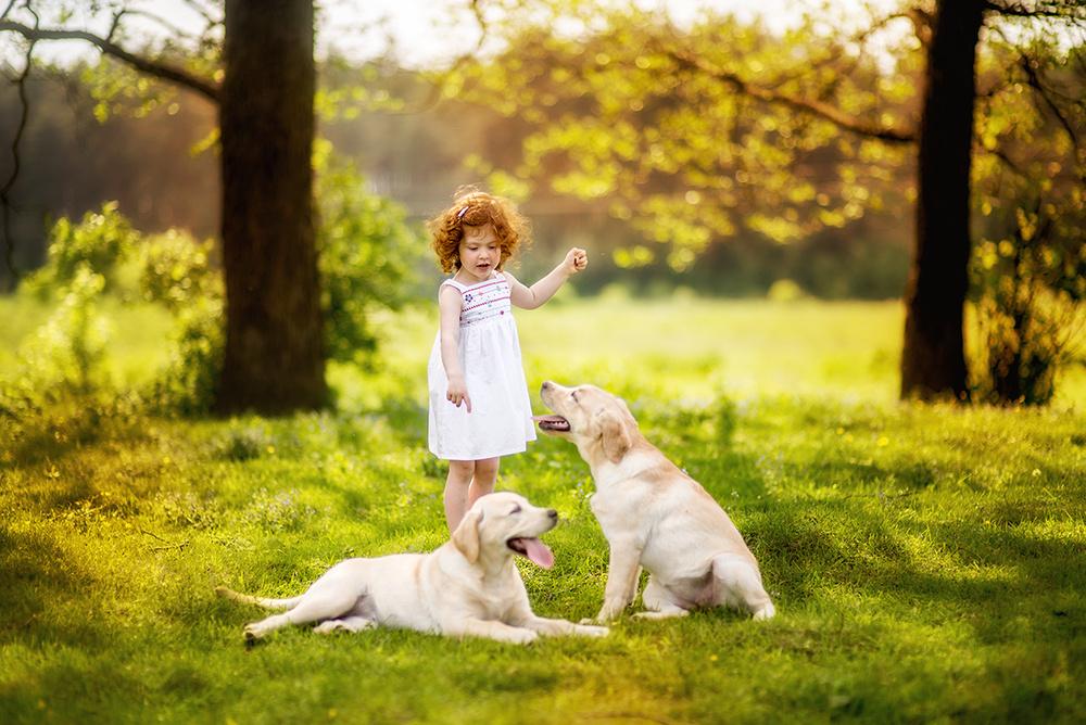 Детская фотосессия - Босоногое детство (мк Ирины Недялковой)