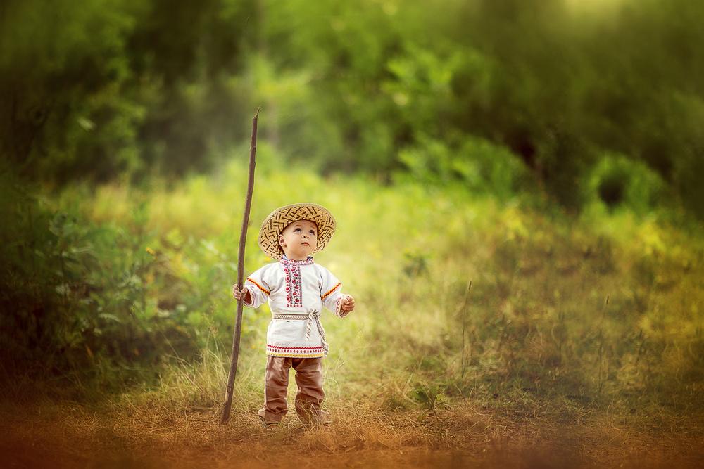 Детская фотосессия - Хлебушек