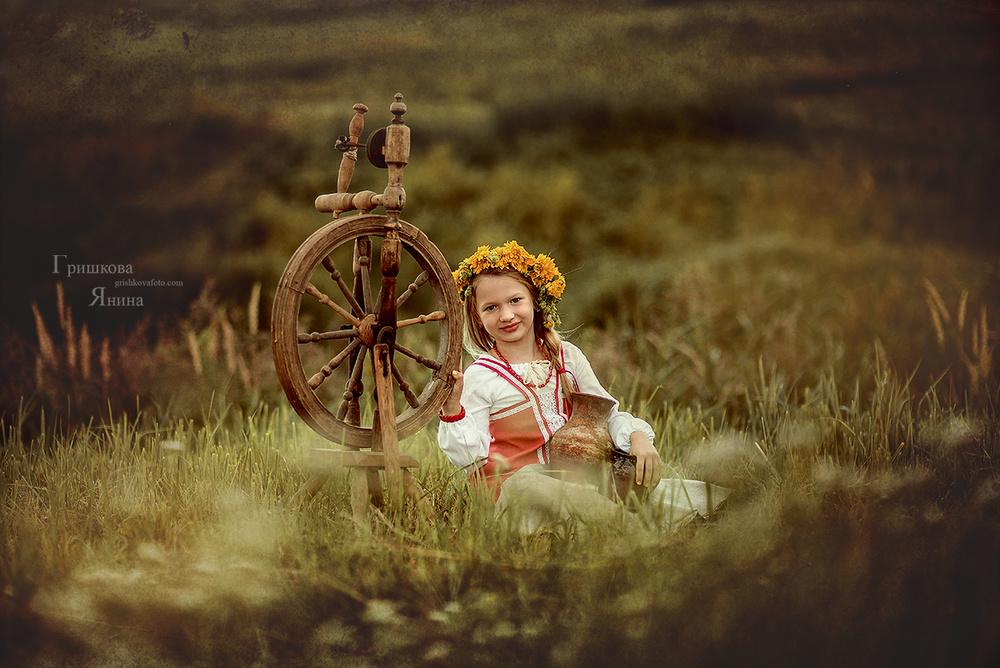 Детская фотосессия - Веночки