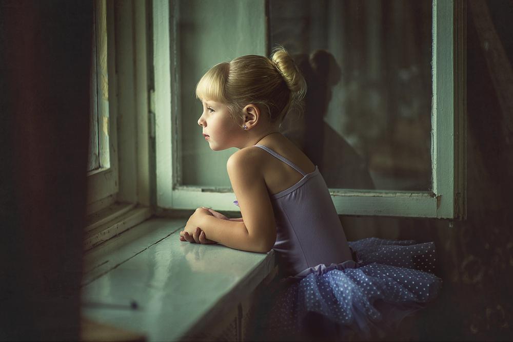 Детская фотосессия - Балерина
