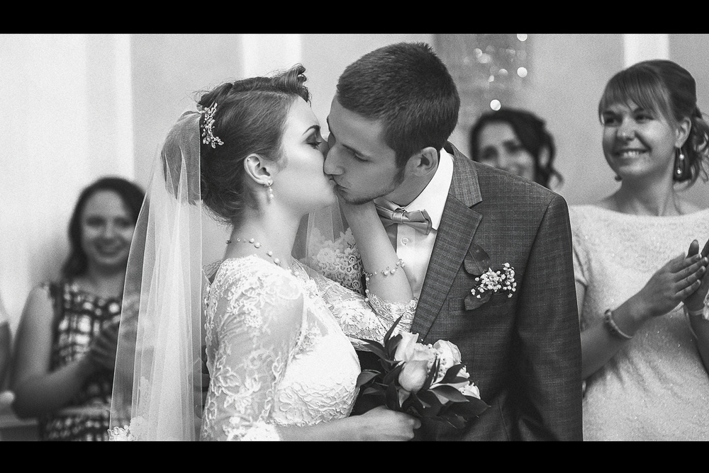 Свадебная фотосъемка и лав стори - Алина и Максим