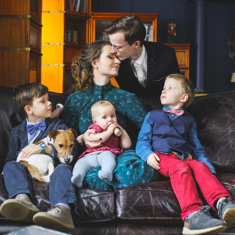 Просторная семья