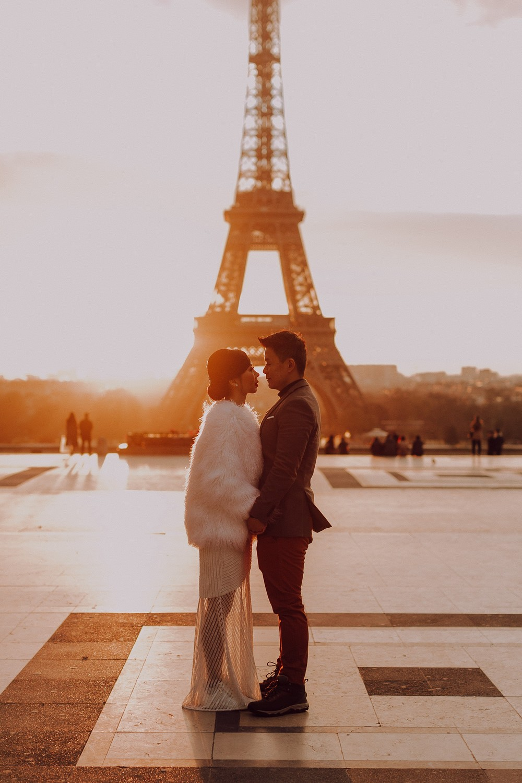 Engagement in Paris