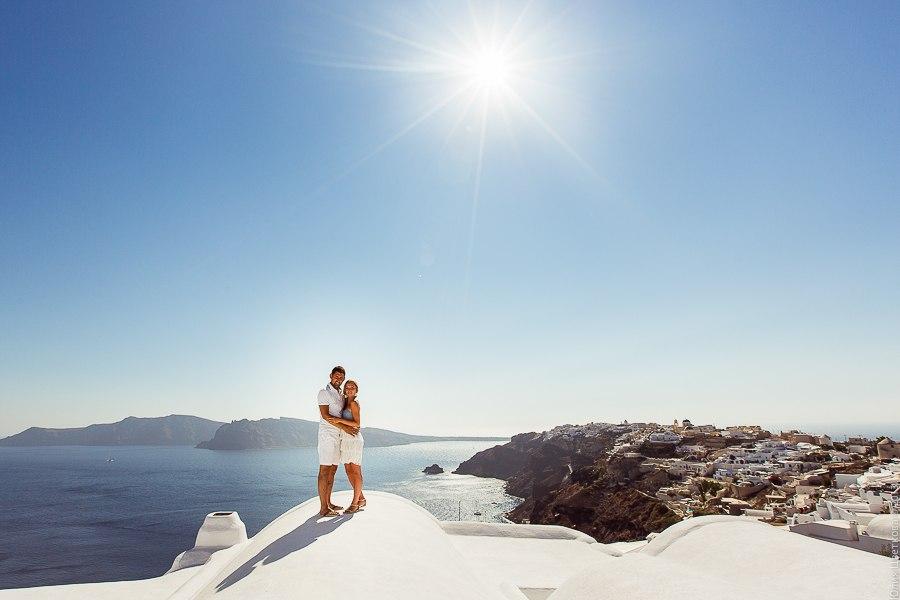 PORTFOLIO/ПОРТФОЛИО - Santorini. Masha & Roman