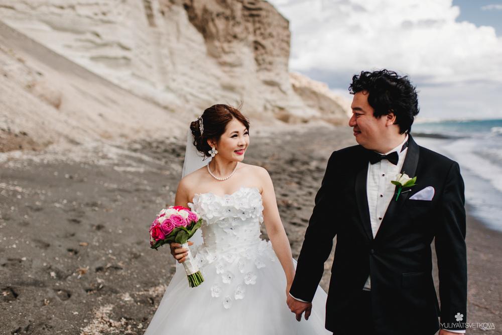 PORTFOLIO/ПОРТФОЛИО - Santorini. Yuka & Hisashi