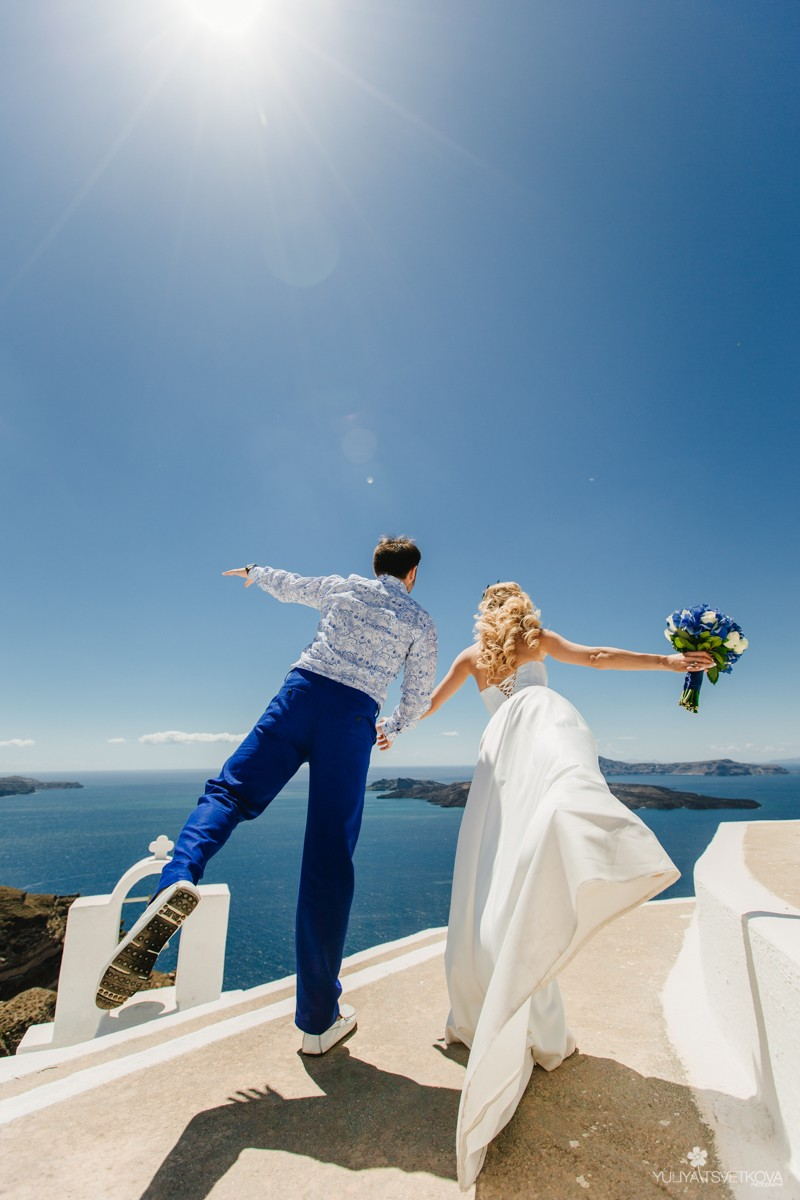 PORTFOLIO/ПОРТФОЛИО - Santorini. Alyona & Denis