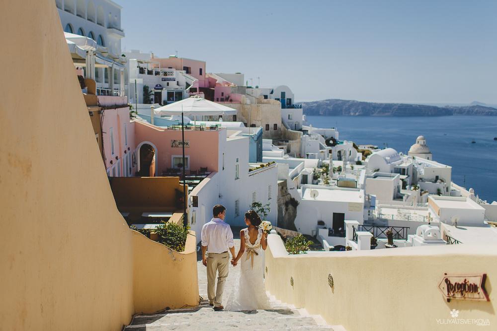 PORTFOLIO/ПОРТФОЛИО - Santorini. Ekaterina & Petr - Свадебный фотограф на Санторини
