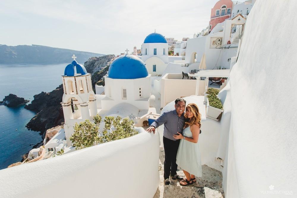 PORTFOLIO/ПОРТФОЛИО - Santorini. Isa & Ben