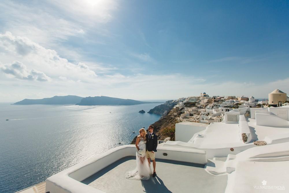 PORTFOLIO/ПОРТФОЛИО - Santorini. Melanie & Florian