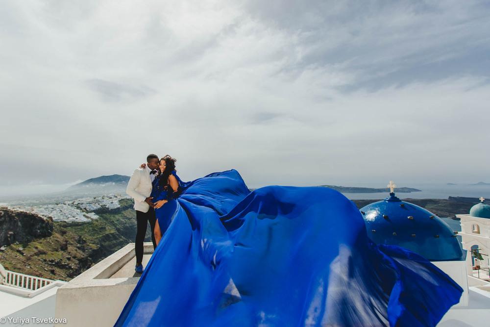 PORTFOLIO/ПОРТФОЛИО - Santorini. Afeez & Megan