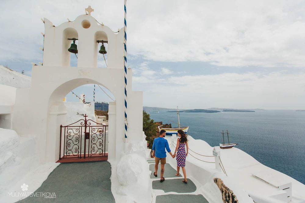PORTFOLIO/ПОРТФОЛИО - Santorini. Aksiniya & Igor