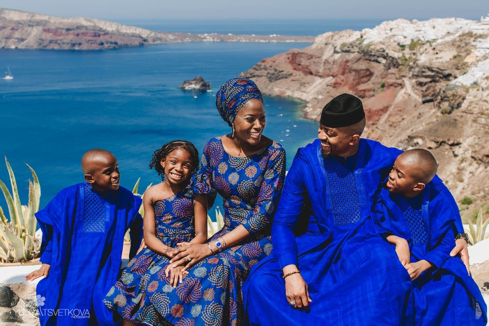 PORTFOLIO/ПОРТФОЛИО - Santorini. Hamila & Muhammad family