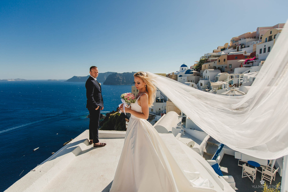 PORTFOLIO/ПОРТФОЛИО - Santorini. Yaroslav & Viktoria