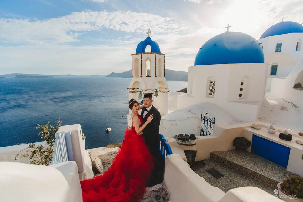 PORTFOLIO/ПОРТФОЛИО - Santorini. Andy & Grace