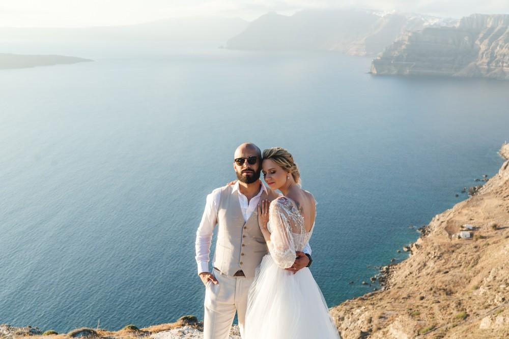 PORTFOLIO/ПОРТФОЛИО - Santorini. Daria & Motaz