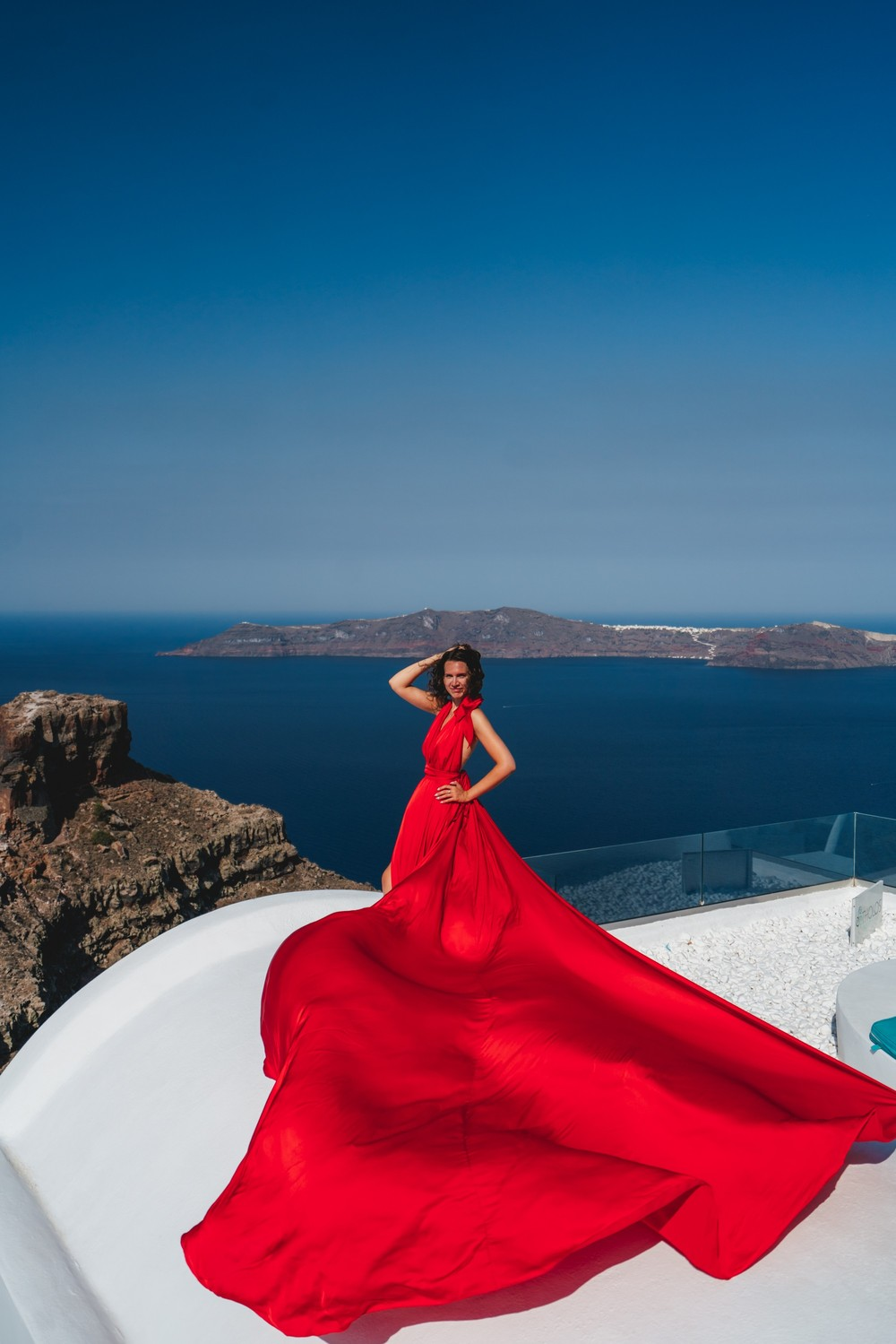 FLYING DRESSES CATALOGUE/ЛЕТЯЩИЕ ПЛАТЬЯ - RED BACKLESS