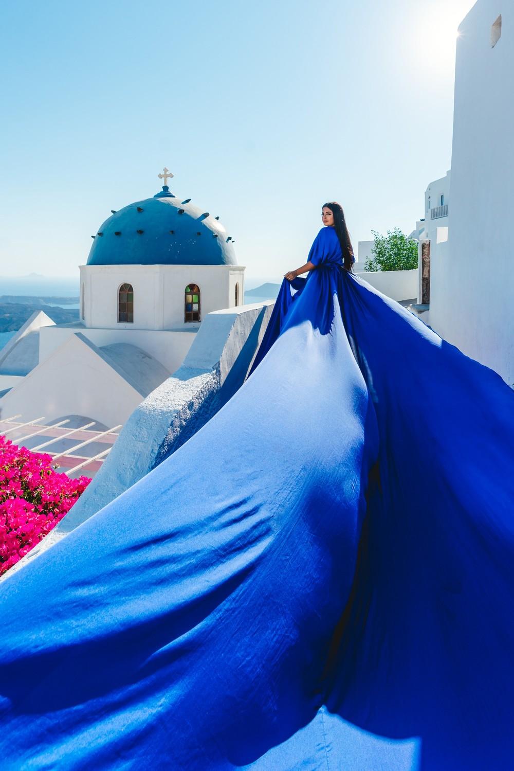 FLYING DRESSES CATALOGUE/ЛЕТЯЩИЕ ПЛАТЬЯ - BLUE TUNIC