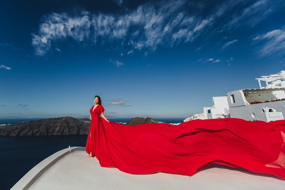 FLYING DRESSES CATALOGUE/ЛЕТЯЩИЕ ПЛАТЬЯ - RED TUNIC
