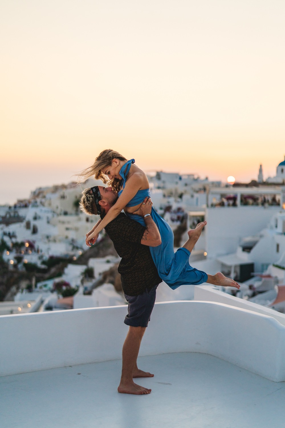 PORTFOLIO/ПОРТФОЛИО - Santorini. Sergey & Valeriya