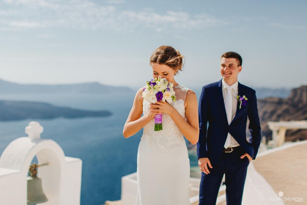 PORTFOLIO/ПОРТФОЛИО - Santorini. Elizaveta & Timofey
