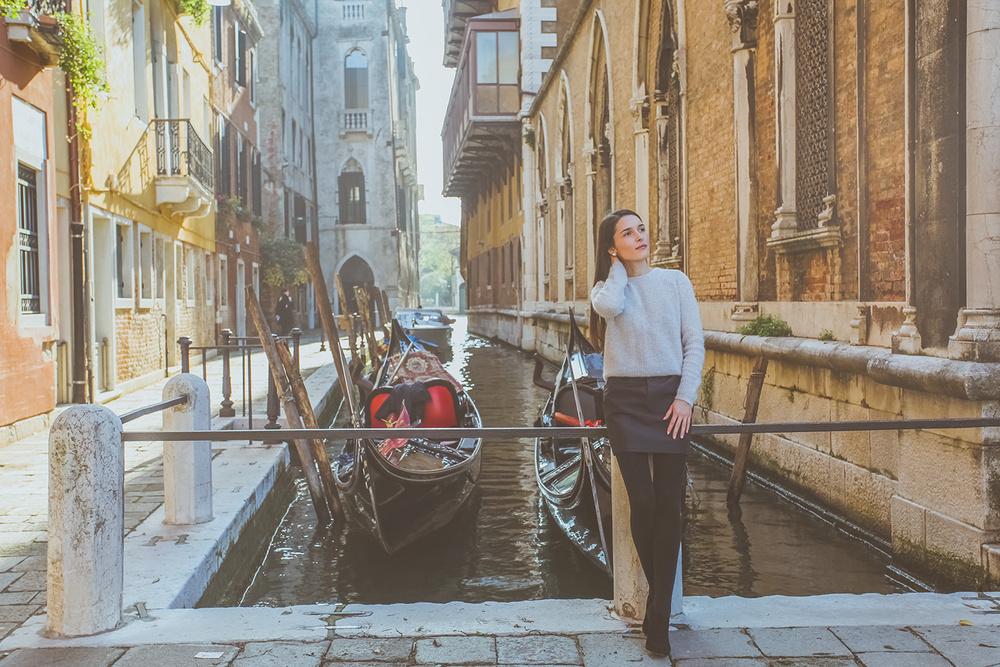 Фотограф в Венеции