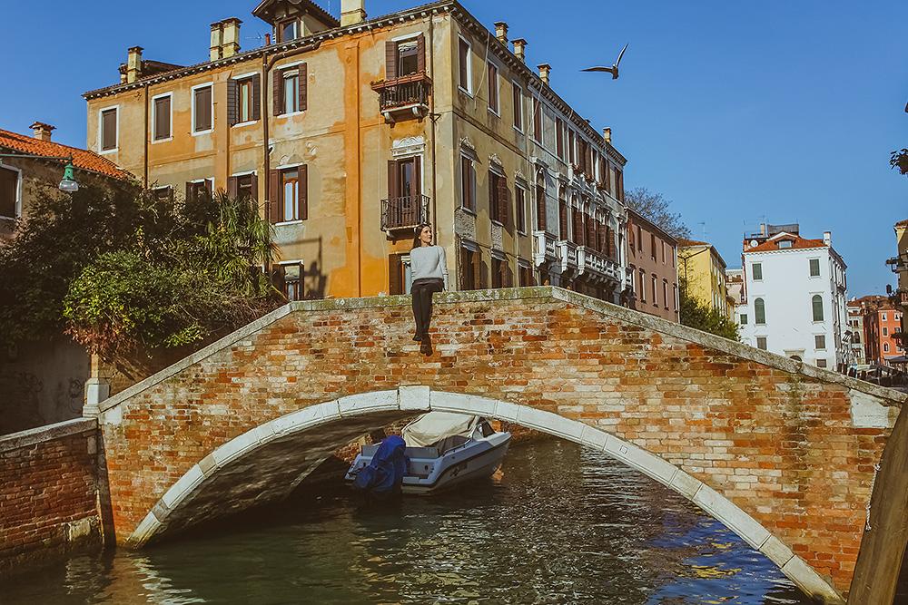 Фотограф в Венеции, девушки в венеции