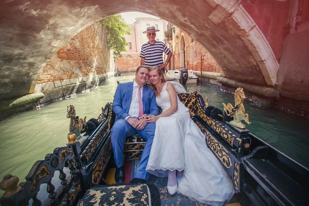 свадебная фотосессия в Венеции