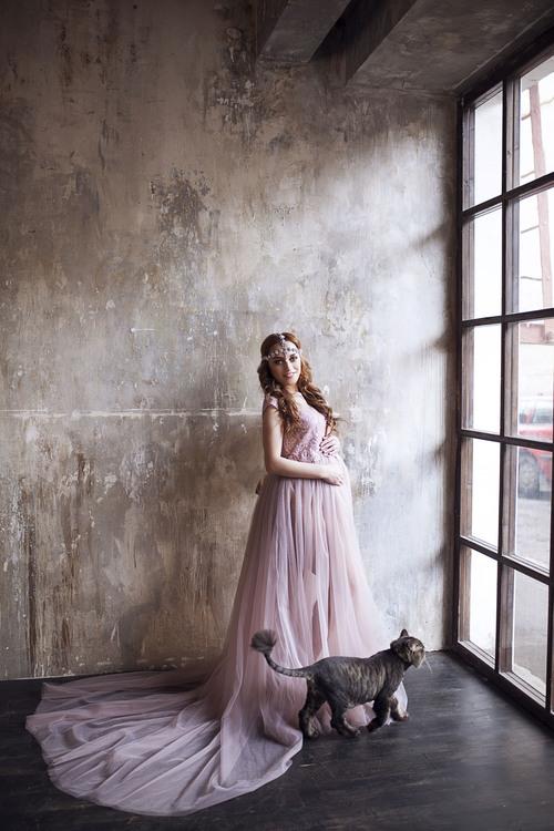Платье Тауп