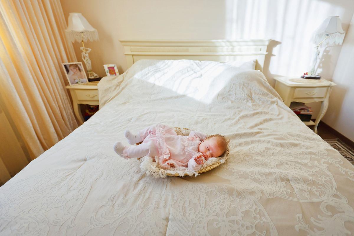 фотосессия новорожденных  и  детей  до  года