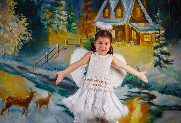Портретная  фотосъёмка  в  детском  саду