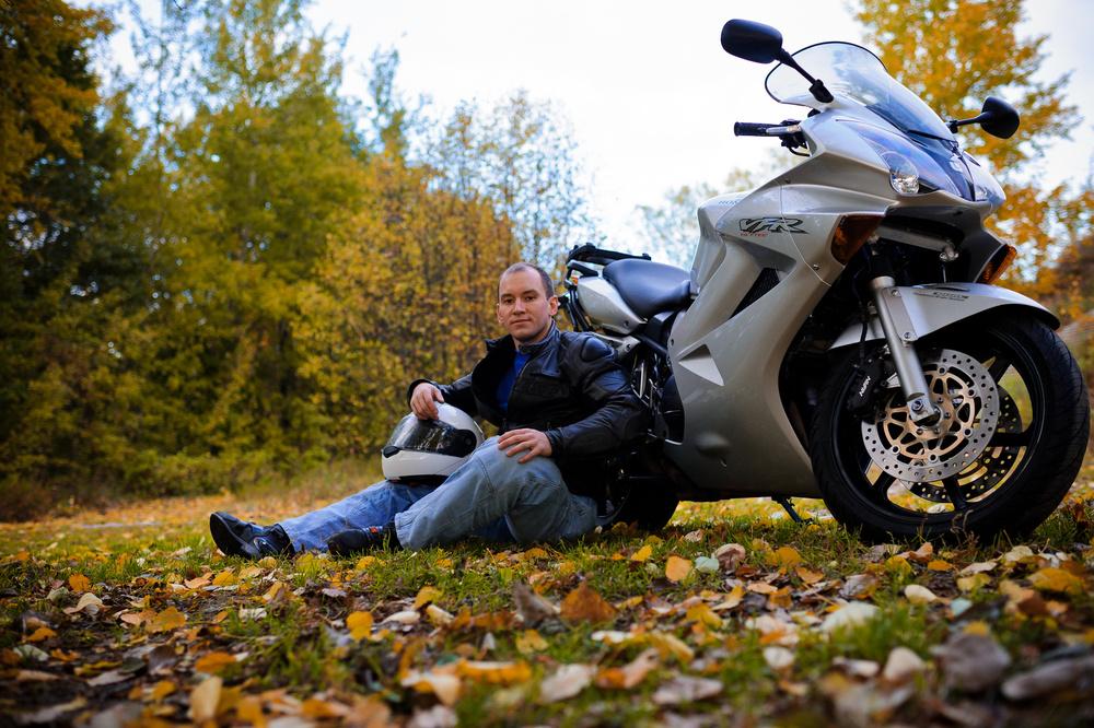 Другие съемки - Денис & Honda VFR