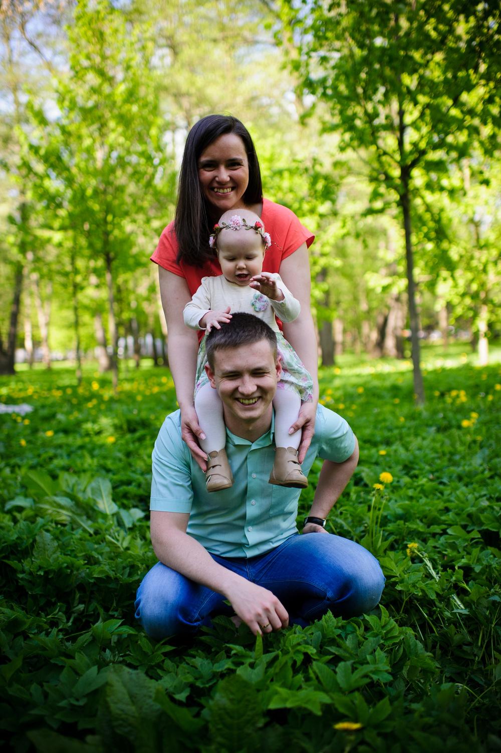 Другие съемки - Семейная фотосессия