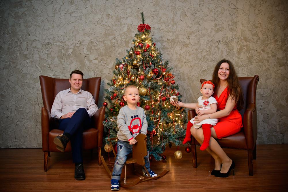 Другие съемки - Семейная фотосессия студия