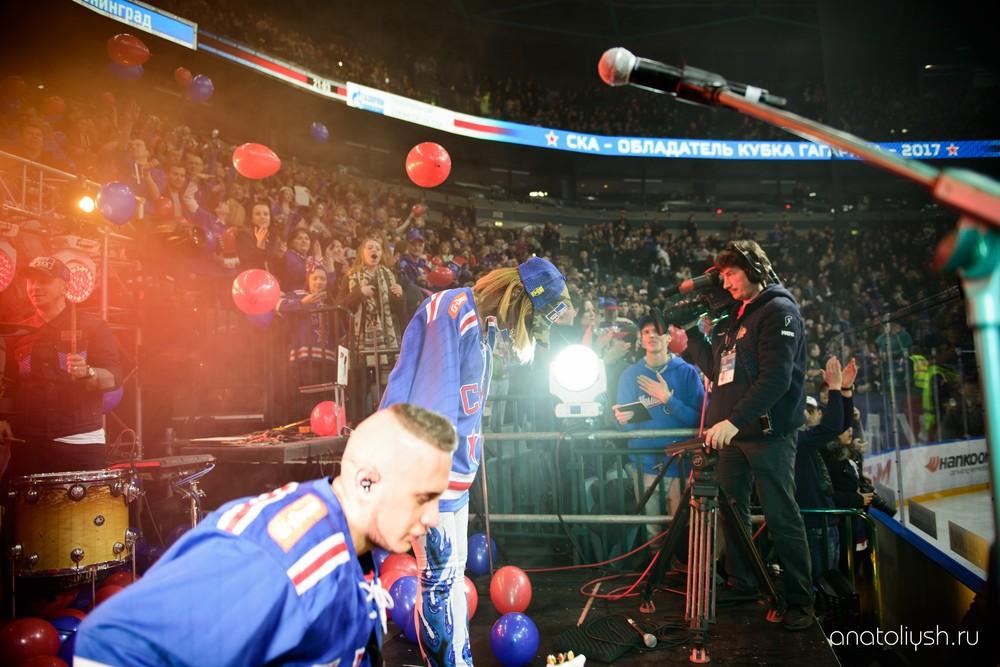 Другие съемки - Празднование чемпионства ХК СКА