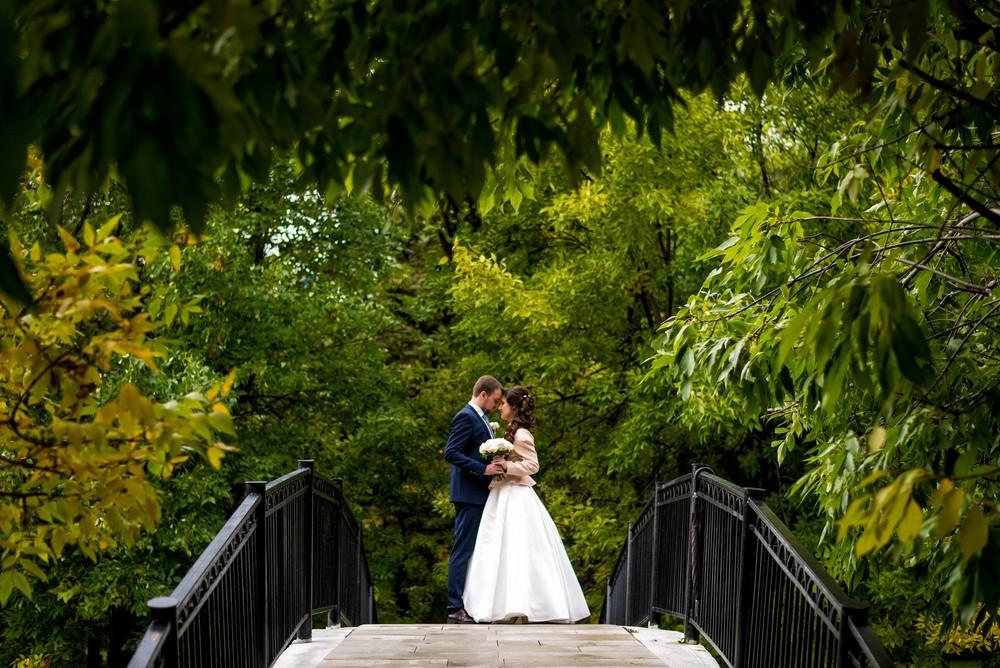Свадебные фотосессии в открытых местах