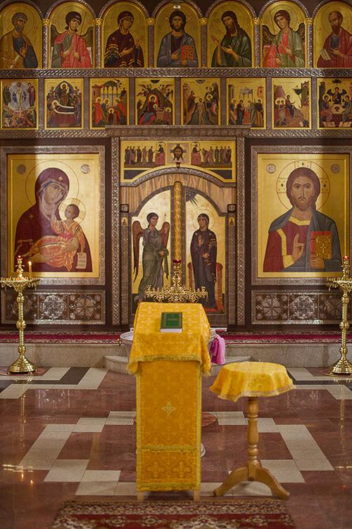ФОТОГАЛЕРЕЯ - КРЕЩЕНИЕ. Съемка в храме