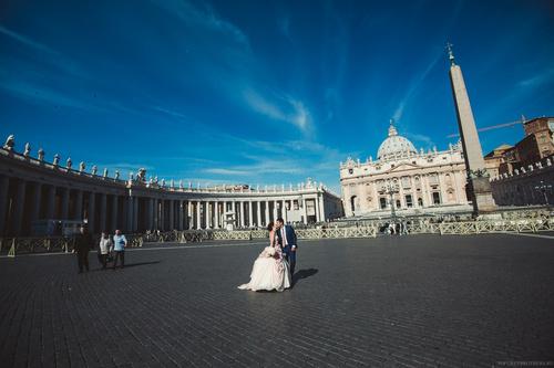 Римские каникулы для Игоря и Татьяны, Италия