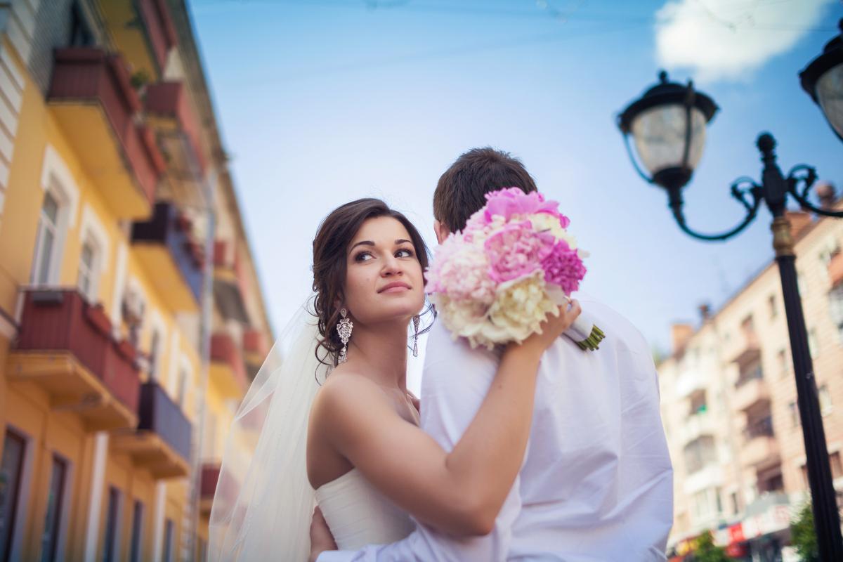 Свадебная фотосессия на Бульваре Гагарина Брянск